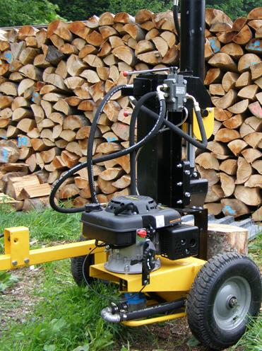 Kálačka dreva, štiepačka dreva, hydraulická kálačka